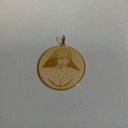 Medalha do Bem N. 07 Ouro 18k.