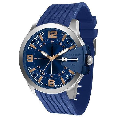 Relógio Lince Mrp4487s  Masculino - Azul
