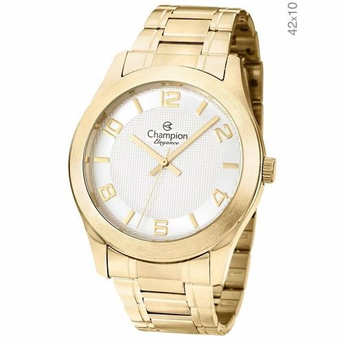 Relógio Champion dourado Feminino Elegance