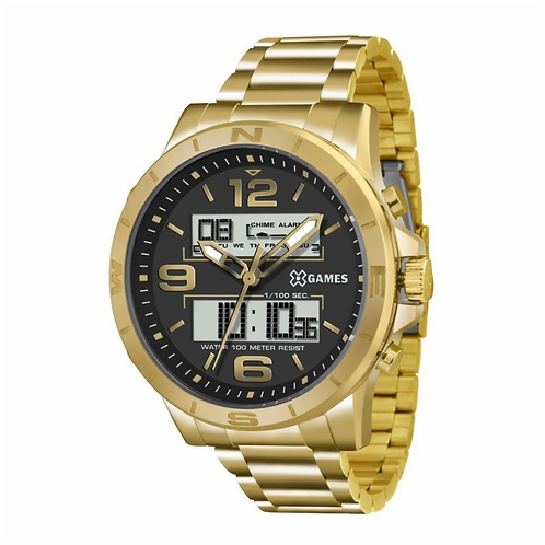 Relógio XGAMES - Dourado