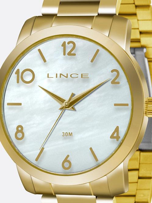 Kit Relógio Feminino Lince LRG4374L