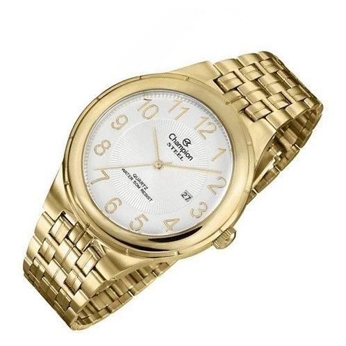 Relógio Masculino Dourado Champion