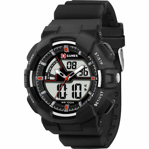 Relógio Masculino X Games Anadigi Preto XMPPA139