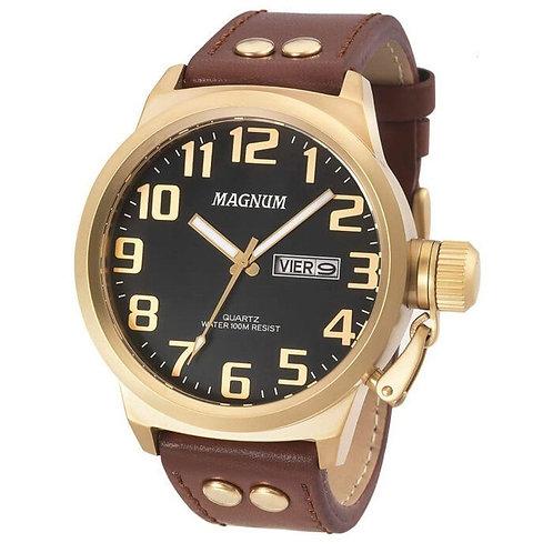 Relógio Magnum Masculino pulseira marron
