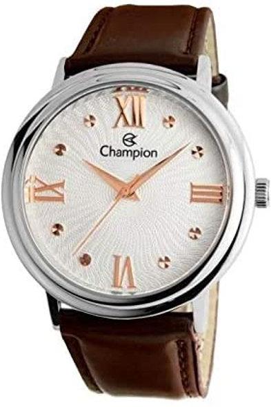 Relógio Champion Feminino Casual Prateado