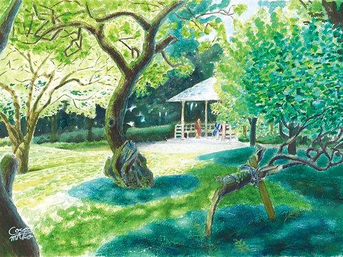 「初夏の戸定邸」PC用壁紙