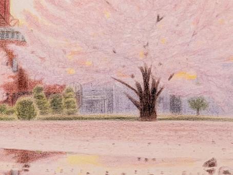 オーダー絵画の一部分🖼