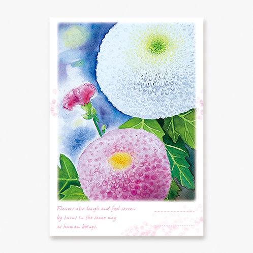 """Pom-pom Mums and a Carnation"" Notebook"
