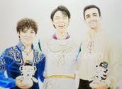 平昌オリンピックフィギュアスケート 男子メダリスト