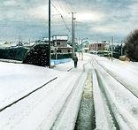 雪の風景画