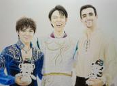 平昌オリンピックフィギュアスケートメダリスト