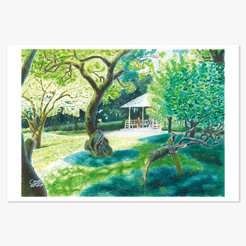 「初夏の戸定邸」ポストカード