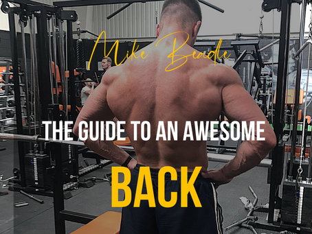 The Guide to an Awesome Back