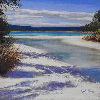 Beach Shadows - Lindy Whitton