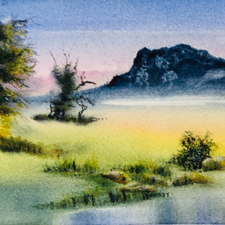 Mountain Pond - Graeme Dazeley