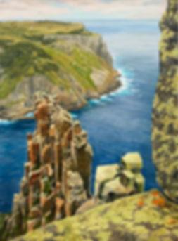 Tasman Island Cape Pillar Joan Humble.jp