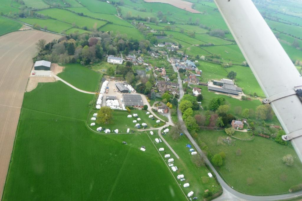 Aerial view of Home Farm