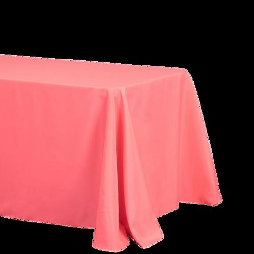Coral - Rectangular Polyester Tablecloth