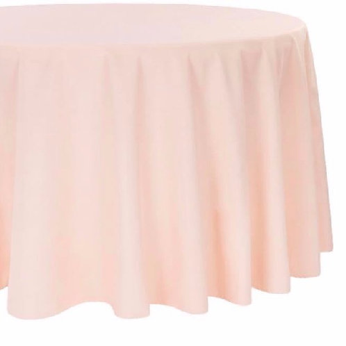 "Blush - 120"" Polyester Tablecloths"