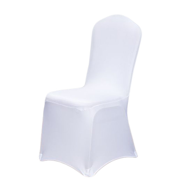 Outstanding White Stretch Chair Cover Pabps2019 Chair Design Images Pabps2019Com
