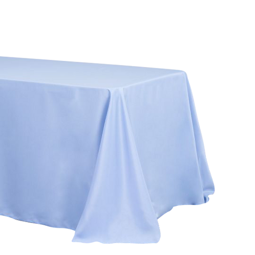 Serenity Blue - Rectangular Polyester Tablecloth