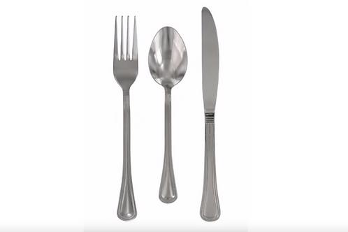 Silverware Set - Stainless Steel