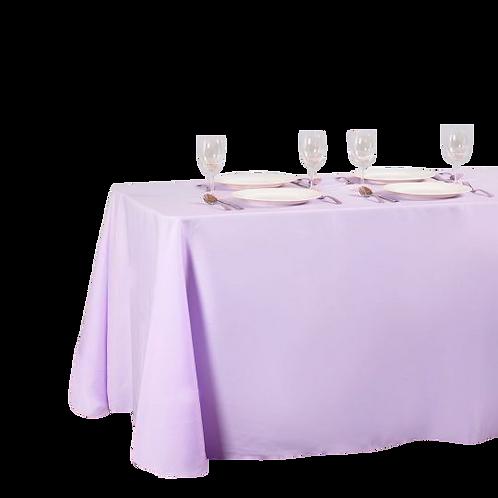 Lavender - Rectangular Polyester Tablecloth