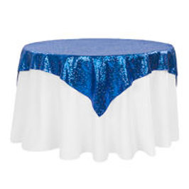 Royal Blue - Sequin Overlays