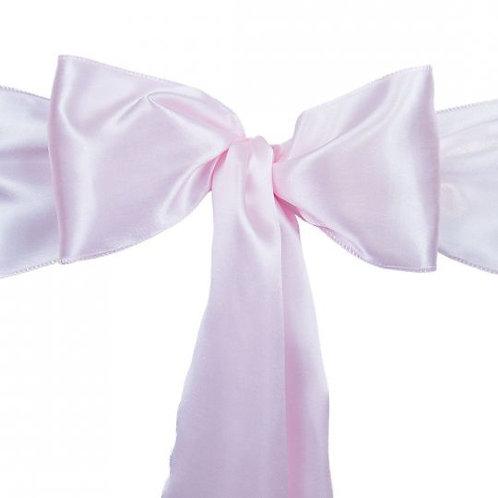 Light Pink - Satin Sashes