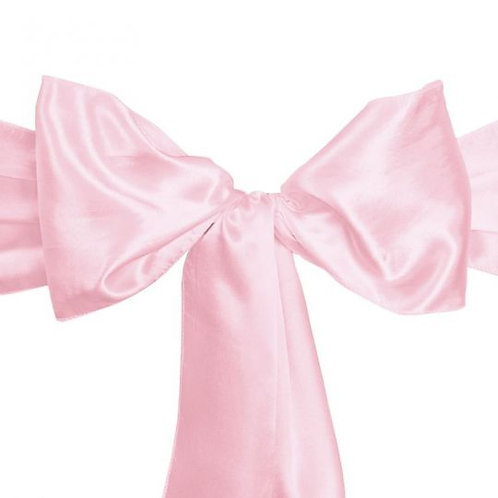 Pink- Satin Sashes