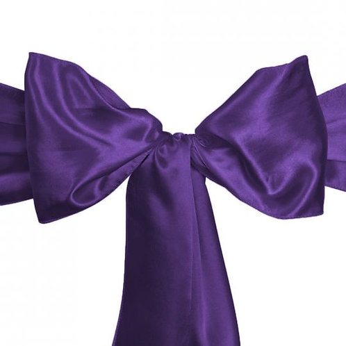 Purple - Satin Sashes