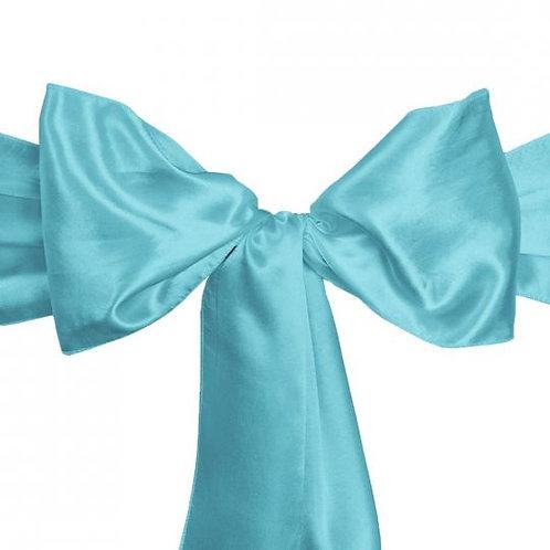 Turquoise- Satin Sashes