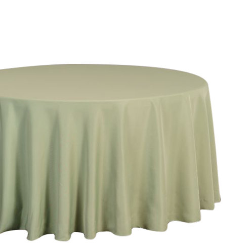 """Reseda- 120"""" Polyester Tablecloths"""