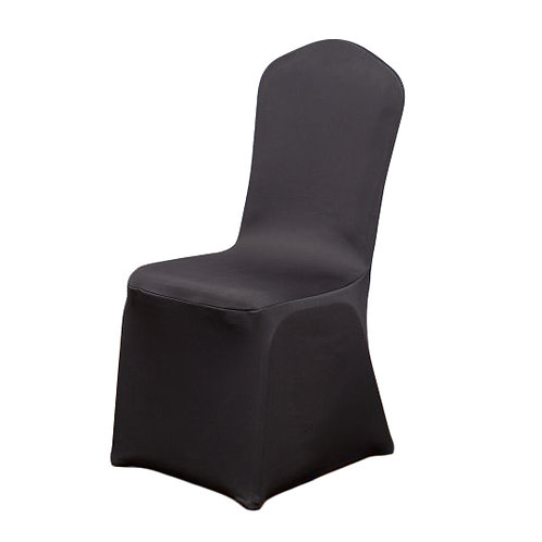 Black- Stretch Chair Cover