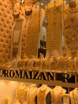 Gold Shop in the Gold Souk, Dubai