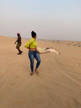 Sahara Desert UAE