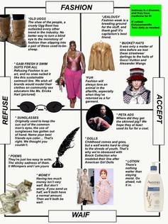 issue 08 - REFUSE FASHION II (Fashion/Waif/Refuse/Accept)