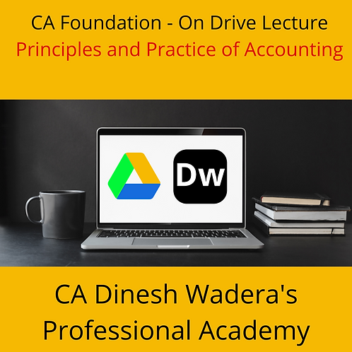 Principles and Practice of Accounting - CA Foundation - On Drive