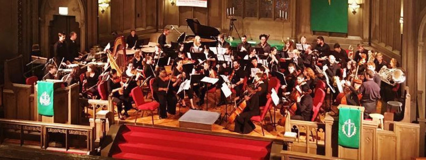 5th Wave Orchestra at Chicago Temple.