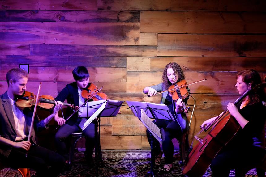 5th Wave String Quartet at Uncommon Ground.