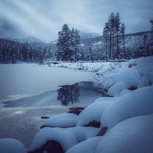 A Mountain Lake Reflection.
