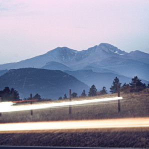 Early Morning Light Trails.