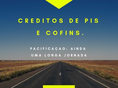 PIS/COFINS - Receita publica parecer sobre conceito de insumos para PIS e Cofins