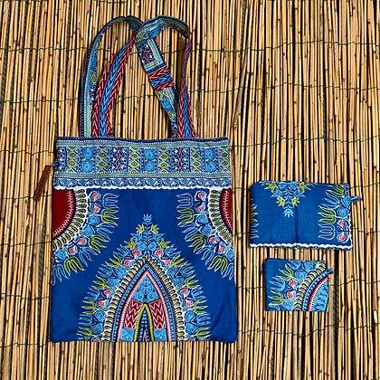 Binta packae - turquoise Blue
