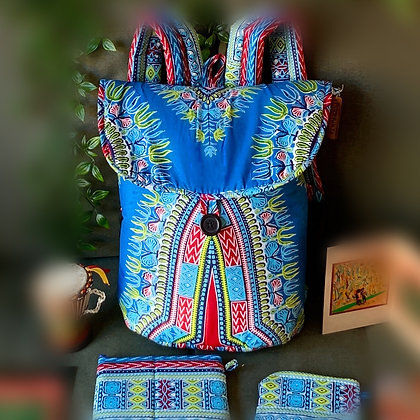 Backpack Package - turquoise Blue