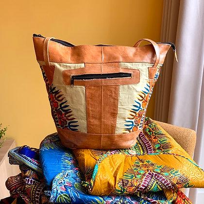 Sjiek Leather Bag Package - light Yellow