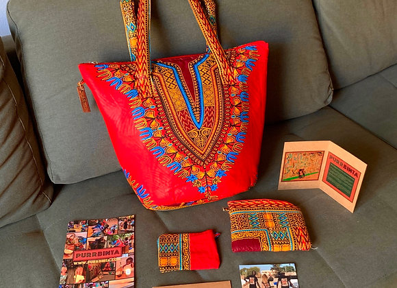 Alagie package M/L - sunny Red