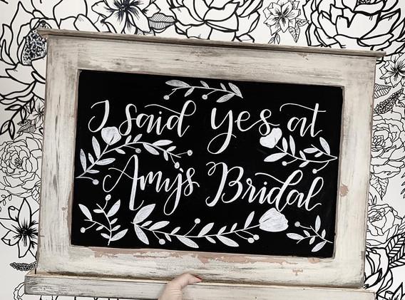 AMY'S BRIDAL