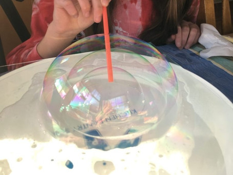 Blowing Bubbles to Learn About Math and Science
