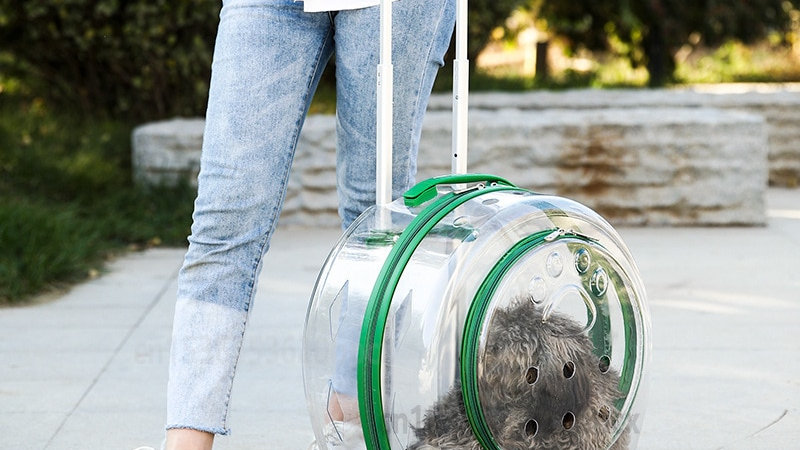 Trolley Pet Backpack Multifunctional, Breathable